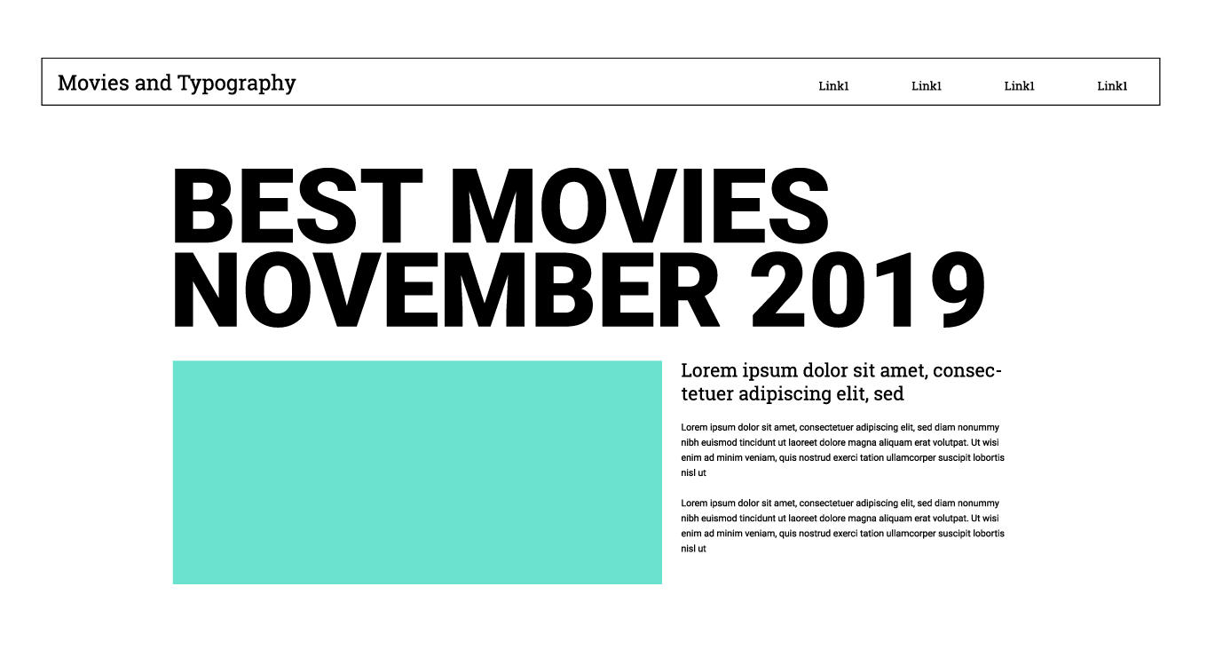 Mockup of this article's layout