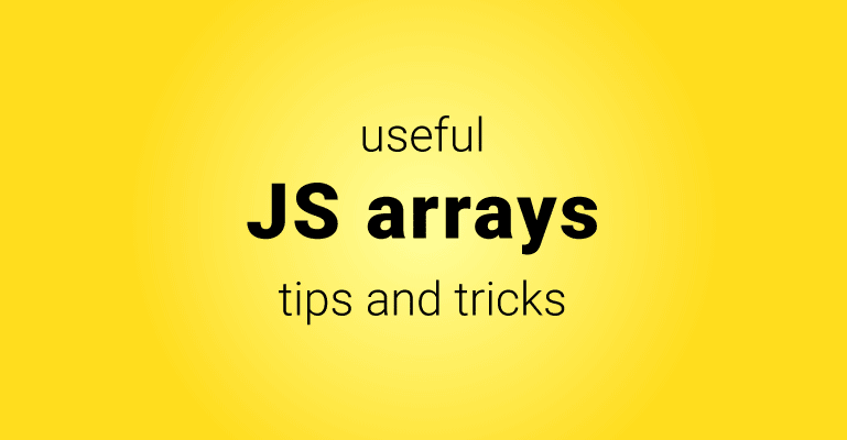 Working with arrays in JavaScript